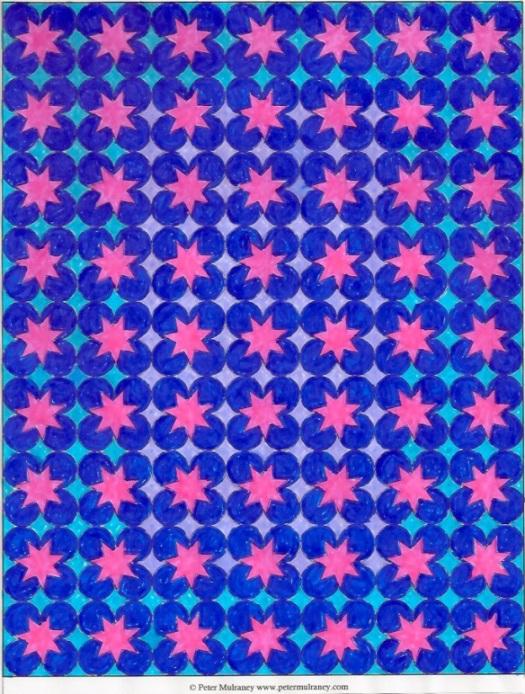 Image of Mandala 7 colored in