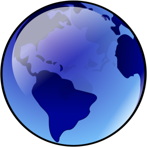 Blue earth |openclipart.org
